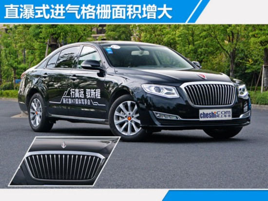 红旗新H7正式上市 售价区间XX-XX万元-图5