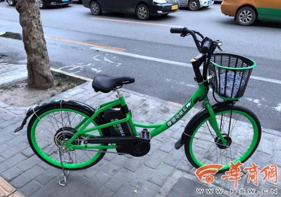电动车的尴尬体验          据了解,享骑电单车首先在上海街头出现