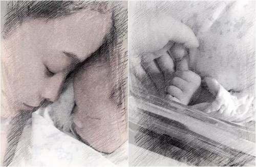 侯佩岑二胎儿子终于健康出院 首晒同框照感恩医生