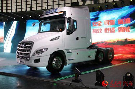 东风柳汽乘龙T7正式上市 现场获得116台订单