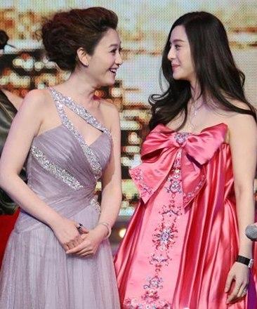李小冉范冰冰刘亦菲景甜 娱乐圈女明星中李小冉的亮白绝对是焦点
