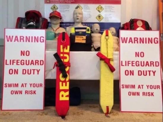 泰国普吉岛海滩将不再有救生员:90多名工作者离职