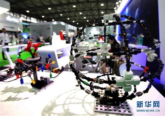 """(教育)(1)上海国际教育装备展:""""未来课堂""""抢先看"""