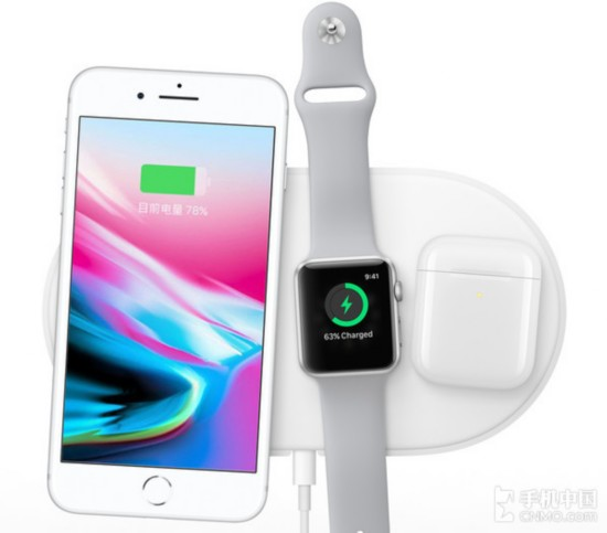 新款iPhone搭载了无线充电功能