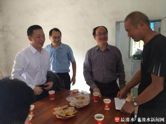 江苏省委第一巡视组走访慰问白马困难党员