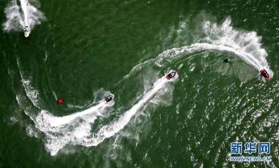 水上摩托高手柳州竞技