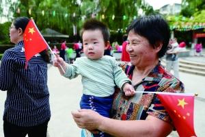 南京礼敬国旗活动首次走进幼儿园 获园长点赞