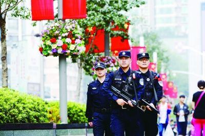 国庆期间南京警方提高全市治安防控勤务等级