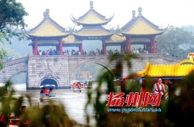 长假首日扬州旅游开门红 景区游客同比增四成