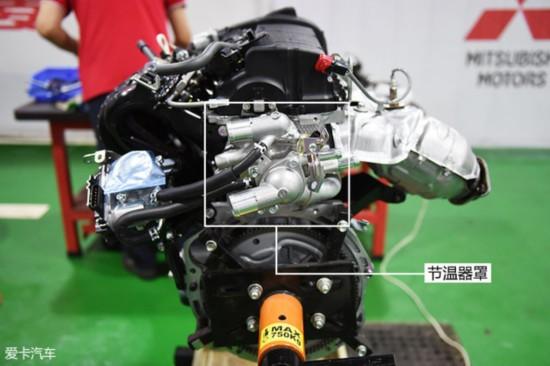 广汽三菱欧蓝德;三菱MIVEC发动机;三菱发动机