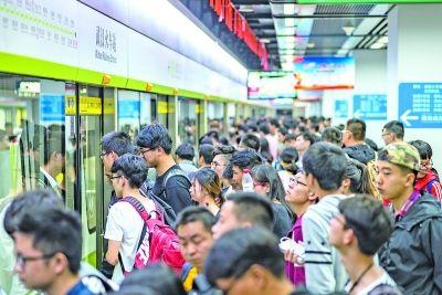 地铁部分重点站将采取限流措施 正常情况下排队时间不超过5分钟