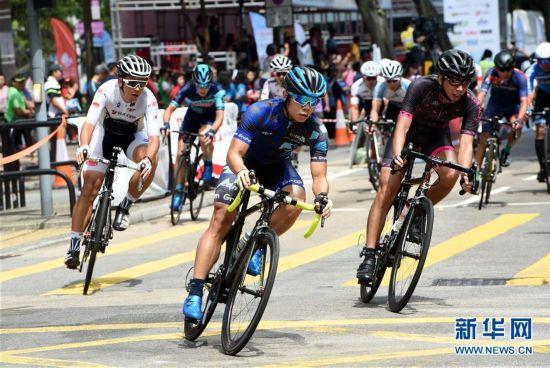(体育)(3)自行车――香港举办自行车节