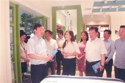 国家版权局副局长:叠石桥版权保护居全国前列