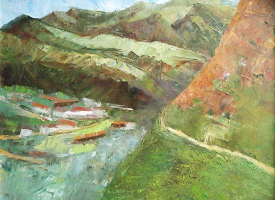 卢文清《山》