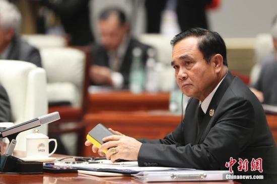 9月5日,新兴市场国家与发展中国家对话会在厦门国际会议中心举行,泰国总理巴育出席对话会。 <a target='_blank'  data-cke-saved-href='http://www.chinanews.com/' href='http://www.chinanews.com/'><p  align=
