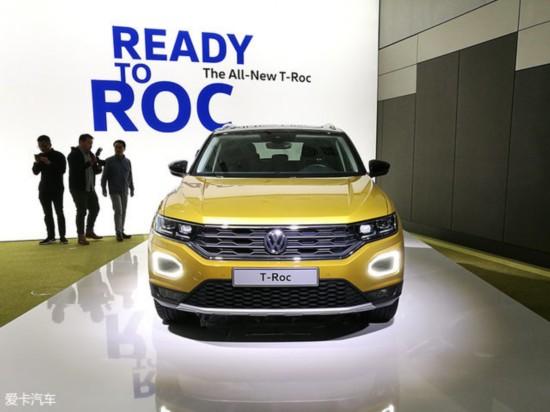 法兰克福车展:大众T-ROC量产版抢先看