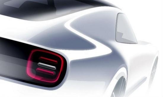 本田发布新电动概念车预告图 将亮相东京车展