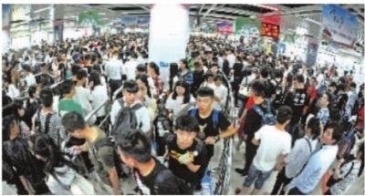 黄金周超2300万人次坐地铁