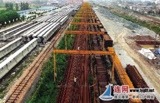 连盐铁路连云港段施工基本完成 年底将调试