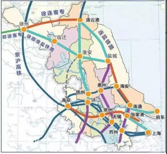 连云港至盐城铁路6座新建客运站主体完工