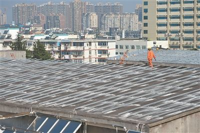 江苏首个公交场站光伏发电项目预计年底投用