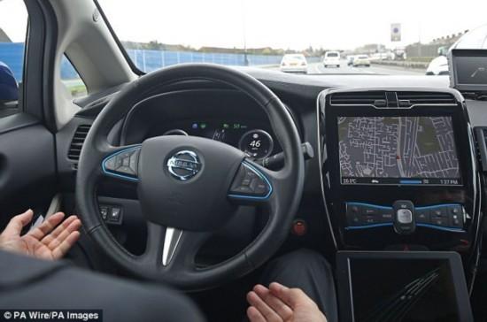 无人驾驶车时代即将开启 人类驾车或将被禁止