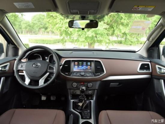 中兴汽车 领主 2016款 2.5T四驱超豪华型JE4D25E