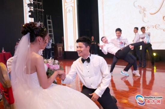苏炳添结婚 妻子林艳芳是初中同学 相恋12年