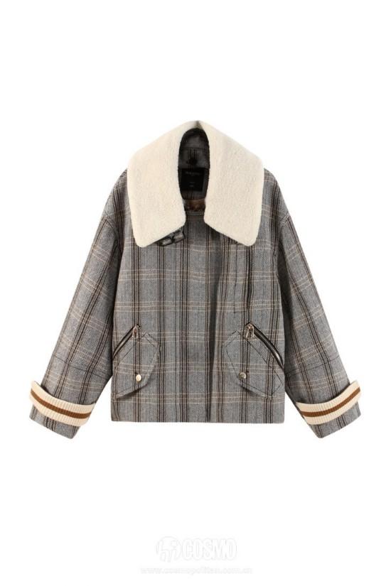 羽绒服来自PEACEBIRD WOMEN 售价1499元 可从品牌官网购买
