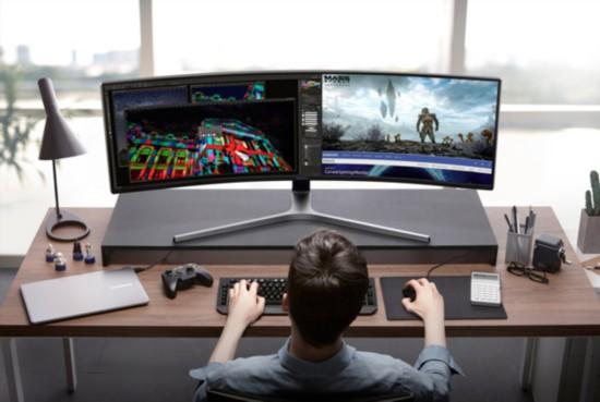 发布+视频三星将游戏史上最狂野电脑显示器一舟视频丁图片