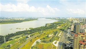 海口南渡江生态公园成长记