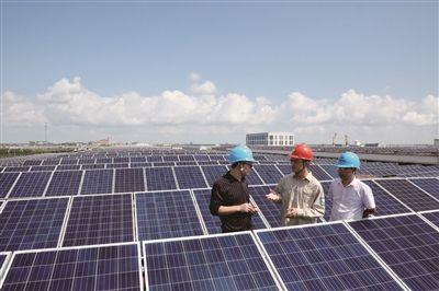 南通海门24家企业500居民用上光伏发电