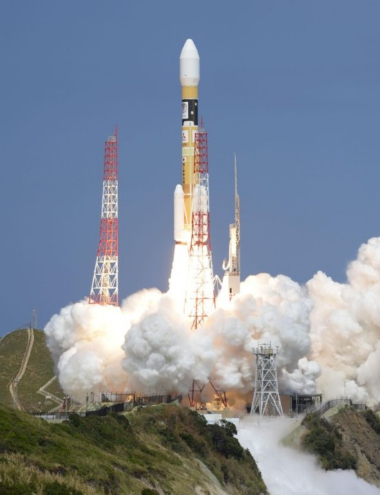 日本H2A火箭。(新华/美联)