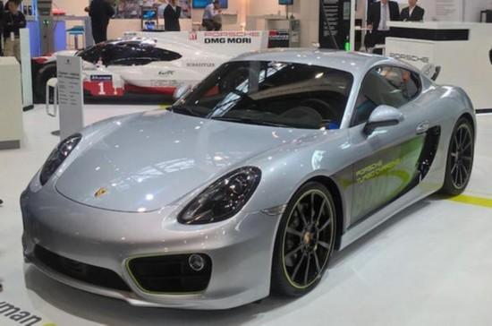保时捷发布Cayman电动概念车 3.3秒破百