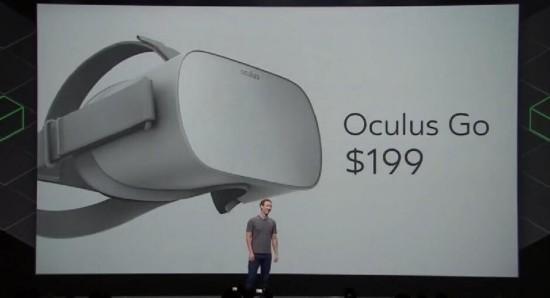 Oculus发布独立VR头显 扎克伯格小目标为10亿VR用户