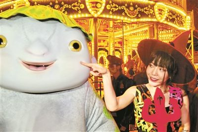 《捉妖记2》吴莫愁饰演护士