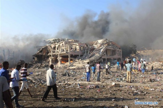40 killed, several injured in bomb explosion in Mogadishu, Somalia