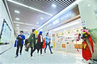 武汉地铁三条商业街 明日同时开业
