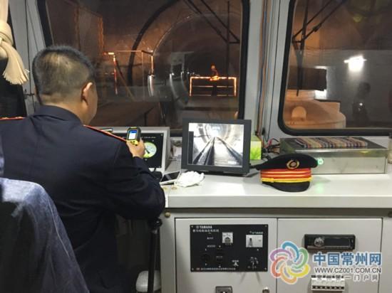 """常州地铁1号线建巡道员队伍""""找茬"""" 为全国首例"""