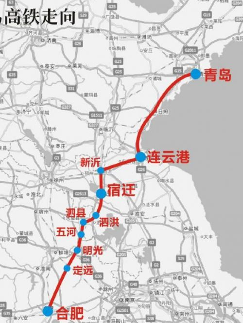 南通将有5条 高铁 开建 江苏26县市将迎高铁时代图片 59913 500x663