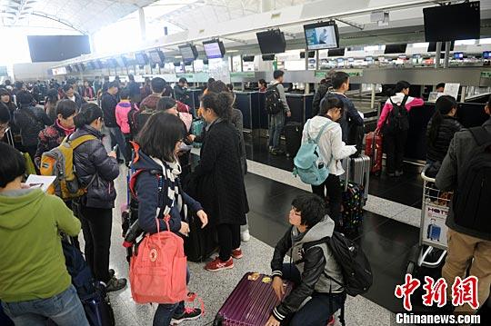 香港圣诞航班供应紧张