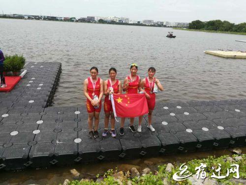 宿迁选手获得2017亚洲赛艇青年锦标赛亚军