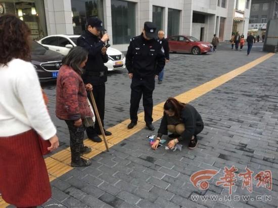 山西全集视频街丢手包回民民警追踪帮找回看游客鉴视频图片