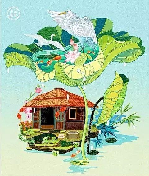 50个人用300天做了一本中国最美日历,377张绝美手绘,许你365天诗意生活