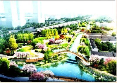 扬州再添新景点:韩万河公园2017年内投用