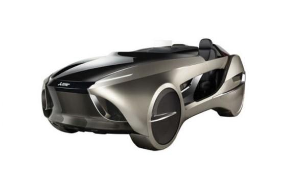 三菱推出Emirai4全新概念车