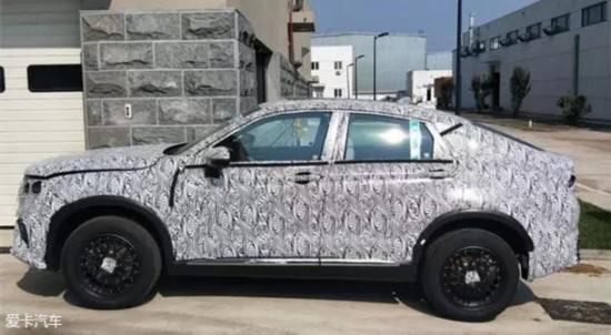 吉利全新轿跑SUV