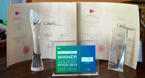 左袋创意冠军作品《艾米咕噜》在戛纳电视节引关注