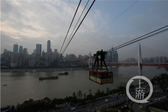 重庆长江索道变 网红 外地游客排长队也要坐图片