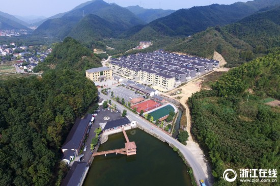 """杭州:湘溪村""""生态立村""""吃起旅游饭"""
